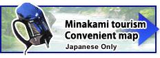 Minakami Tourism map